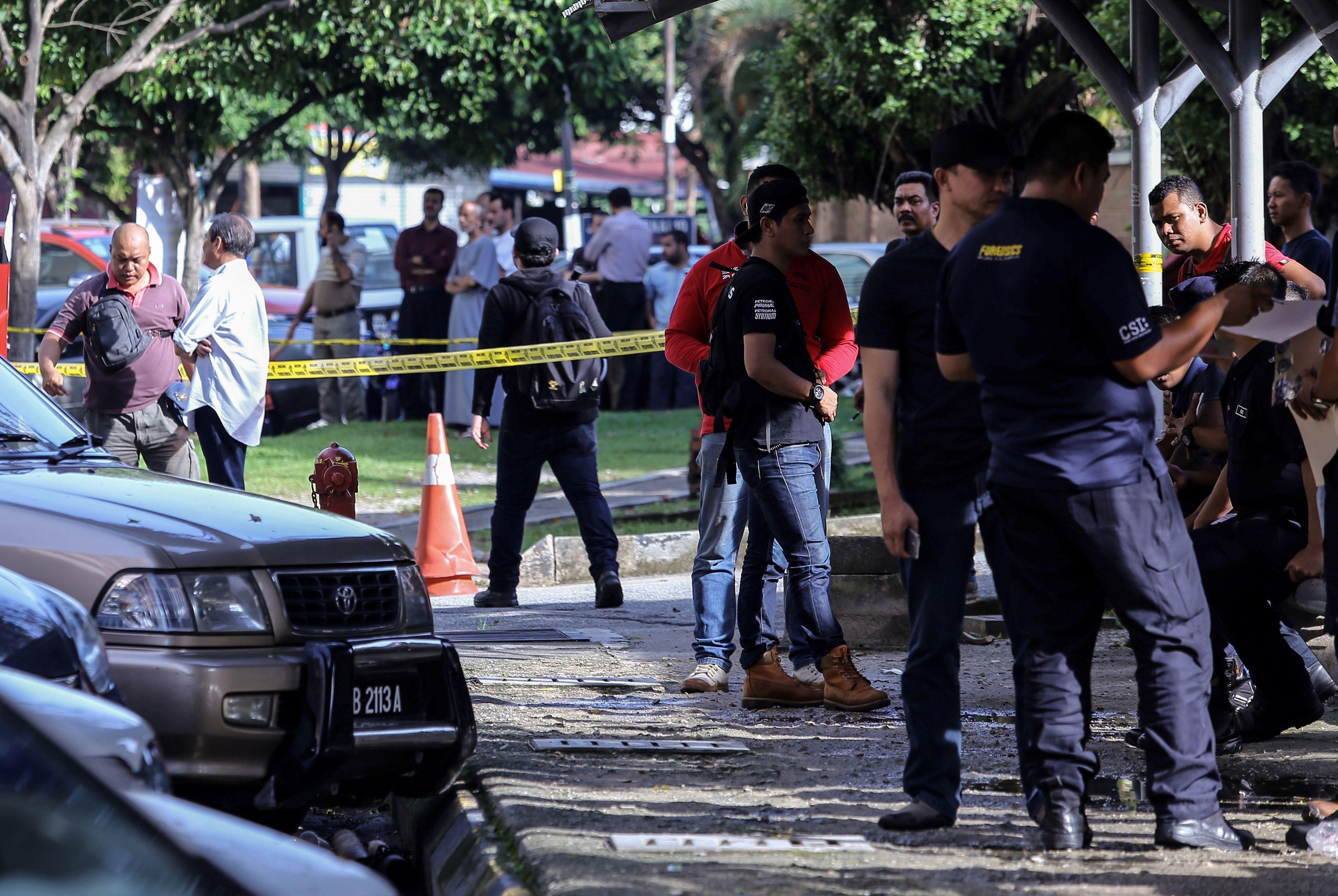 MALAYSIA-PALESTINIANS-CRIME