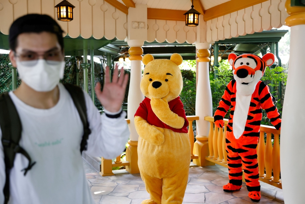 FILE PHOTO: Disneyland re-opens doors to the public in Hong Kong