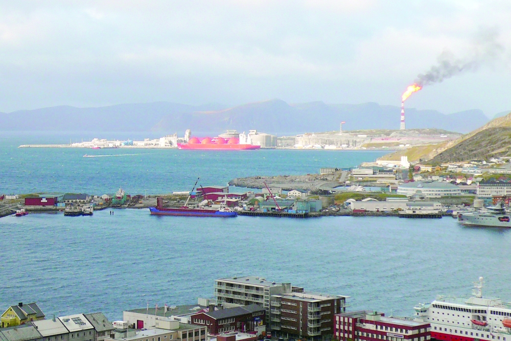 FILE PHOTO: To match feature NORWAY-HAMMERFEST/